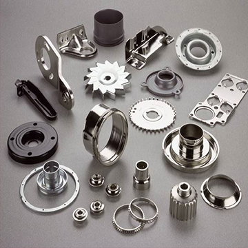 Precision Sheet Metal Engine Components